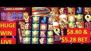 HUGE WINS!!!! BANG ON THE DRUMS ALL DAY!!!! DANCING DRUMS SLOT!!! POKIES!!!