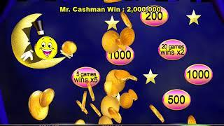 MR CASHMAN AFRICAN DUSK Video Slot Casino Game with a STARS BONUS