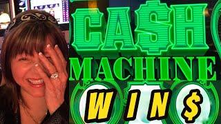 WINNING WITH CASH MACHINE-RESPINS-$10 BET