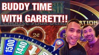 King Jason & Garrett play in Reno!   Jackpot Streams   CASH SPIN   MIGHTY CASH ULTRA •••