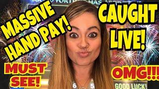 •MASSIVE HAND PAY!• I CAUGHT IT LIVE! FINALLY!•• •MUST SEE!!•️•6K SUB CELEBRATION!•