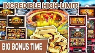 ⋆ Slots ⋆ INCREDIBLE HIGH-LIMIT SLOTS! ⋆ Slots ⋆ Cash Express Luxury Line, Wonder 4 Boost Buffalo