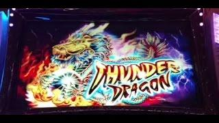 Bahamas EPIC Multiple Progressives Ainsworth Thunder Dragon Slot machine Free Spins pokie