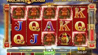 Ancient Gong slots - 540 win!