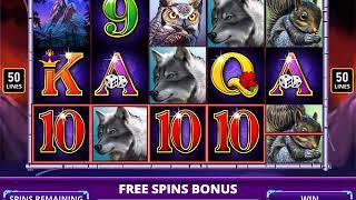 WINNING WOLF Video Slot Casino Game with a WINNING WOLF FREE SPIN  BONUS • SlotMachineBonus