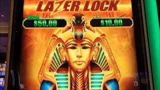 •FIRST ATTEMPT !•LAZER LOCK Slot (EVERI) 3 version $150 Slot Free Play Live @ San Manuel Casino•彡栗スロ