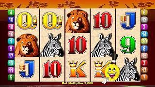 MR CASHMAN AFRICAN DUSK Video Slot Casino Game with a CASHMAN ADDS CREDITS BONUS