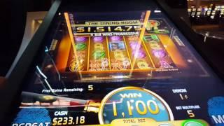 CLUE Free Spins - All 7 Spins in Dining Room! Max bet