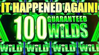 IT HAPPENED AGAIN! MAJOR FREE GAMES! 100 GUARANTEED WILDS!! REGAL RICHES Slot Machine (IGT)