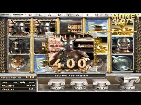 Gladiator Video Slots Review  |  MoneySlots.net