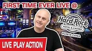 ⋆ Slots ⋆ FIRST TIME EVER Playing SLOTS at Hard Rock Punta Cana ⋆ Slots ⋆ High-Limit ONLY in Dominic