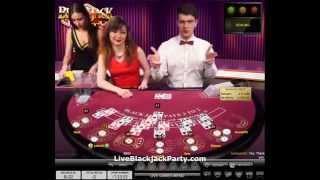 Evolution Gaming Live Blackjack Party