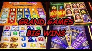 TARZAN, TIMBERWOLF, BUFFALO, FIVE DRAGONS GRAND GAMES - BIG WINS