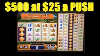 ★$500 Double or Nothing – BIG BET Slot Machine – Giant's Gold! (DProxima)