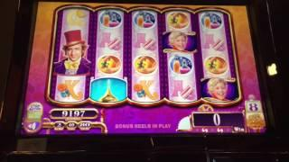 Willy Wonka Slot Machine ~ Charlie Free Spins~ Kewadin Casino! • DJ BIZICK'S SLOT CHANNEL