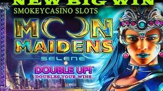Moon Maidens Slot Machine Big Win Bonus  ~ Aristocrat