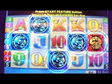 Sun & Moon 50 Free Spins - 5c Aristocrat Video Slots
