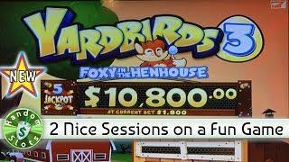 •️ New - Yardbirds 3 Foxy in the Henhouse slot machine, 2 Sessions