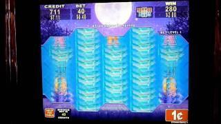 Full Moon Diamond Slot Machine Bonus Win (queenslots)