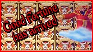 • Good FORTUNE has ARRIVED•Amazing WINS • EZ Life Slot Jackpots