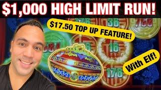 ⋆ Slots ⋆$1000 High Limit CHALLENGE at Cosmo Las Vegas!!! ⋆ Slots ⋆Rising Fortune, Lightning Link, M