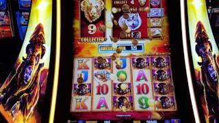 Buffalo Gold Slot Bonus 62 Spin Hand Pay High Limit $36 per spin