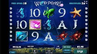 Wild Pearl slots - 102 win!