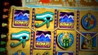 Pyramid of the Kings  Bonus and Play WMS Slots - 5c