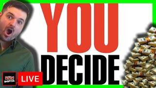 You Decide! Casino Slot Machine Live Stream W/SDGuy1234