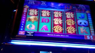 China Shores HANDPAY JACKPOT $20 bet big win over 150 free games high limit free game bonus