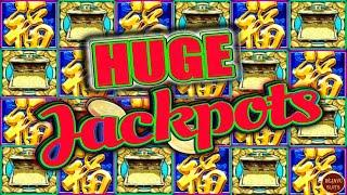 I CAN'T BELIEVE THE RETRIGGERS!!! HUGE JACKPOT MYSTICAL MERMAID & RED FORTUNE HIGH LIMIT SLOTS