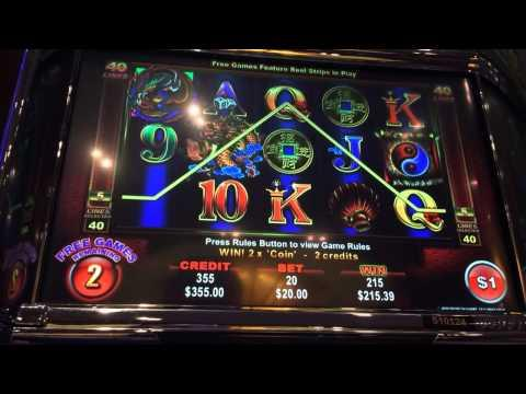Ainsworth dragon big bonus win high limit slots
