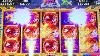 ***VOLCANIC ROCK FIRE BIG WIN*** MAX BET Bonus Games - Celestial Goddesses New Slot