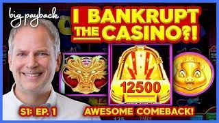 BONUS AFTER BONUS! I Bankrupt the Casino?! S1: Ep. 1 | JACK Thistledown Racino