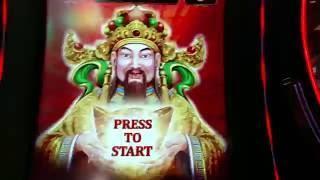 MAX BET Ballys Heavenly Riches Free Spin Bonus Good Win Slot machine