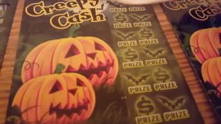 Halloween night Creepy Cash! 12  Creepy Cash tickets! *000-011* *$5 Pa Halloween tickets*