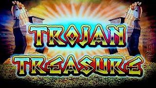 Trojan Treasure Slot - NICE SESSION, ALL FEATURES!