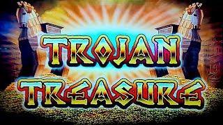 Trojan Treasure Slot - NICE SESSION, ALL FEATURES!
