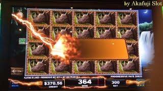 BIG WIN•BIG 5 SAFARI Slot Machine, Progressive Win X 3 Times, ITG, San Manuel Casino, Akafujislot
