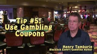 Eight Tips to Become a Winning Blackjack Player Part Two - with Blackjack Expert Henry Tamburin