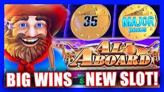 ALL ABOARD FOR SOME BIG WINS ON A NEW SLOT! ⋆ Slots ⋆ KONAMI ALL ABOARD DYNAMITE DASH ⋆ Slots ⋆ LINK