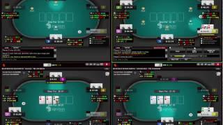 25 NL Ignition Poker Session 1 of 2 - Texas Holdem Poker
