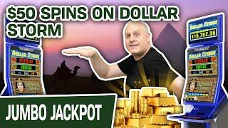 ⋆ Slots ⋆ Dollar Storm HANDPAY from $50 SPINS ⋆ Slots ⋆ Plus a LOT More HIGH-LIMIT Slot Wins!