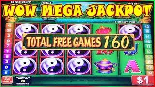 • WOW MEGA JACKPOT • UNBELIEVABLE 160 SPINS • ON CHINA SHORES HIGH LIMIT SLOT •