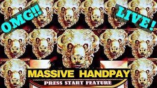 JACPOT HANDPAY•Buffalo Gold Max Bet | Buffalo Slot MEGA WIN | Massive Handpay Jackpot | LIVE STREAM
