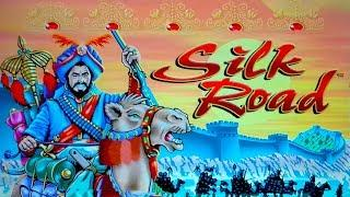 Silk Road Slot - NICE SESSION, ALL FEATURES!