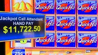 HIGH LIMIT  QUICK HIT FEVER  ★ Slots ★ BIGGEST FEVER BONUS ON YOUTUBE!!!! [SHOWING POTENTIAL]