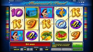 Novomatic Novoline Mermaids Pearl Free Spins Fruit Machine Video Slot