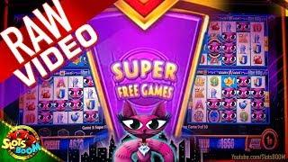 RAW: Miss Kitty Play & Super Free Games - Wonder 4 Jackpots Aristocrat Slot in San Manuel Casino