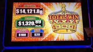 •BEAUTIFUL CROWNS•LOTERIA (Lock It Link) Slot machine•$200 Free Play Live Play •彡栗スロ